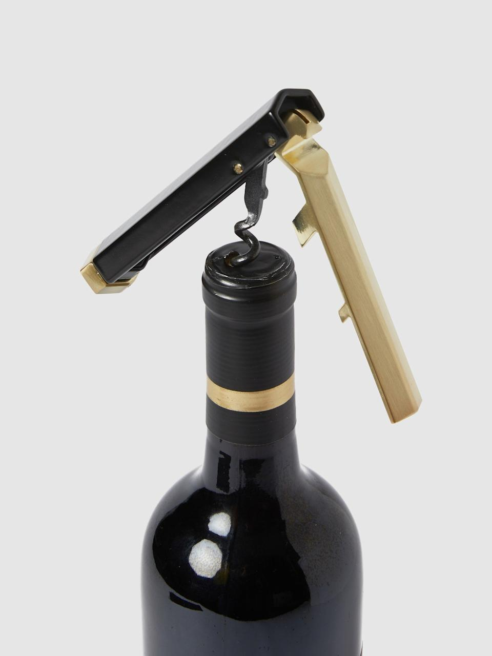 """<h3>RBT Waiter's Corkscrew</h3><br>Who doesn't appreciate a nice glass of wine? According to Stardust, a fancy bottle opener is just the kind of gift that Virgos will enjoy every time they enjoy a bottle during an at-home happy hour on the fire escape.<br><br><strong>RBT</strong> Waiter's Corkscrew, $, available at <a href=""""https://go.skimresources.com/?id=30283X879131&url=https%3A%2F%2Fwww.verishop.com%2Frbt%2Fcorkscrew%2Fwaiters-corkscrew%2Fp4361052749847%3Fvariant_id%3D31200176242711"""" rel=""""nofollow noopener"""" target=""""_blank"""" data-ylk=""""slk:Verishop"""" class=""""link rapid-noclick-resp"""">Verishop</a>"""