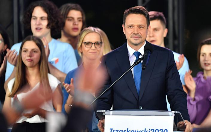 Poland's Rafal Trzaskowski, mayor of Warsaw, was narrowly defeated in the poll - Bloomberg