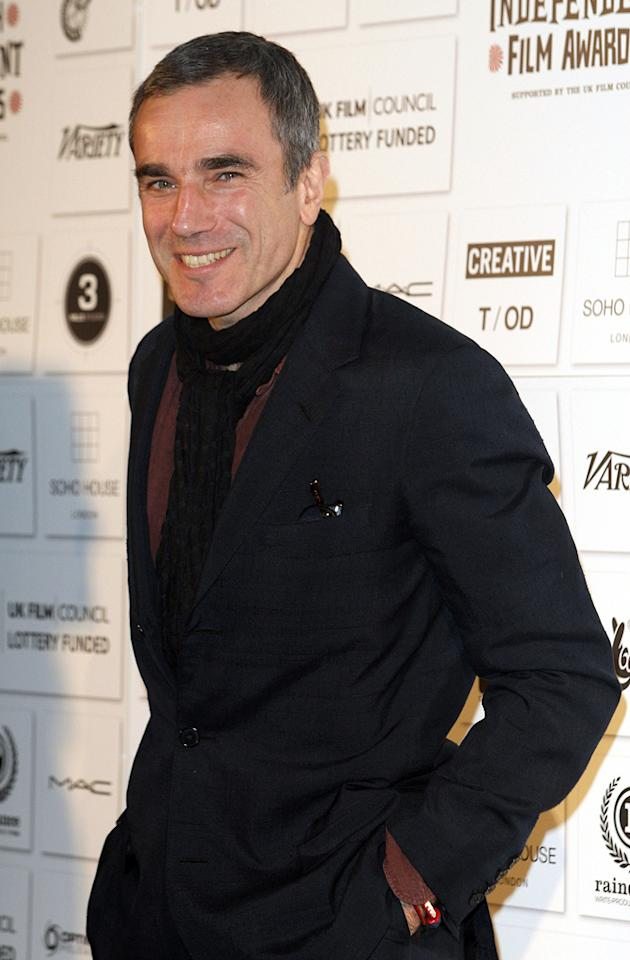 """<a href=""""http://movies.yahoo.com/movie/contributor/1800025261"""">Daniel Day-Lewis</a> at the 2009 British Independent Film Awards in London - 12/06/2009"""