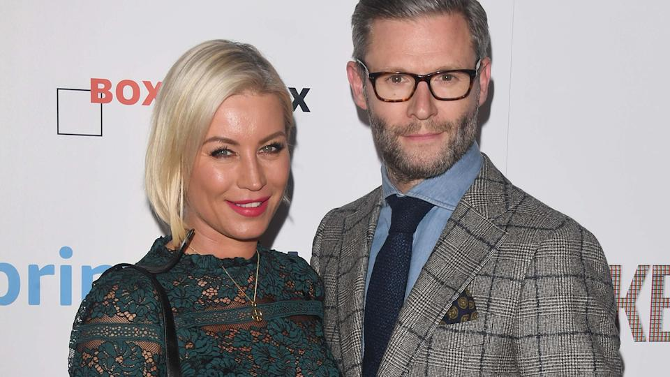 Denise Van Outen and Eddie Boxshall try out psychotherapy in the latest episode of their podcast Before We Say I Do (Image: Getty Images)