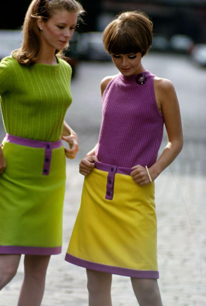 <p>Slime green was hot back in the '60s.</p>