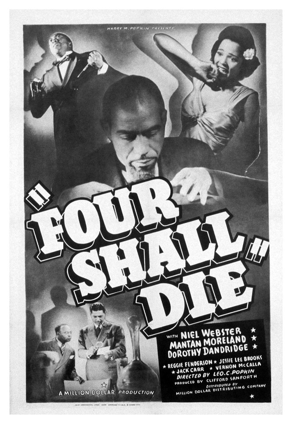<p>In 1940, Dandridge appeared in her first solo film role. The singer and actress landed the part of Helen Fielding in <em>Four Shall Die</em>.</p>