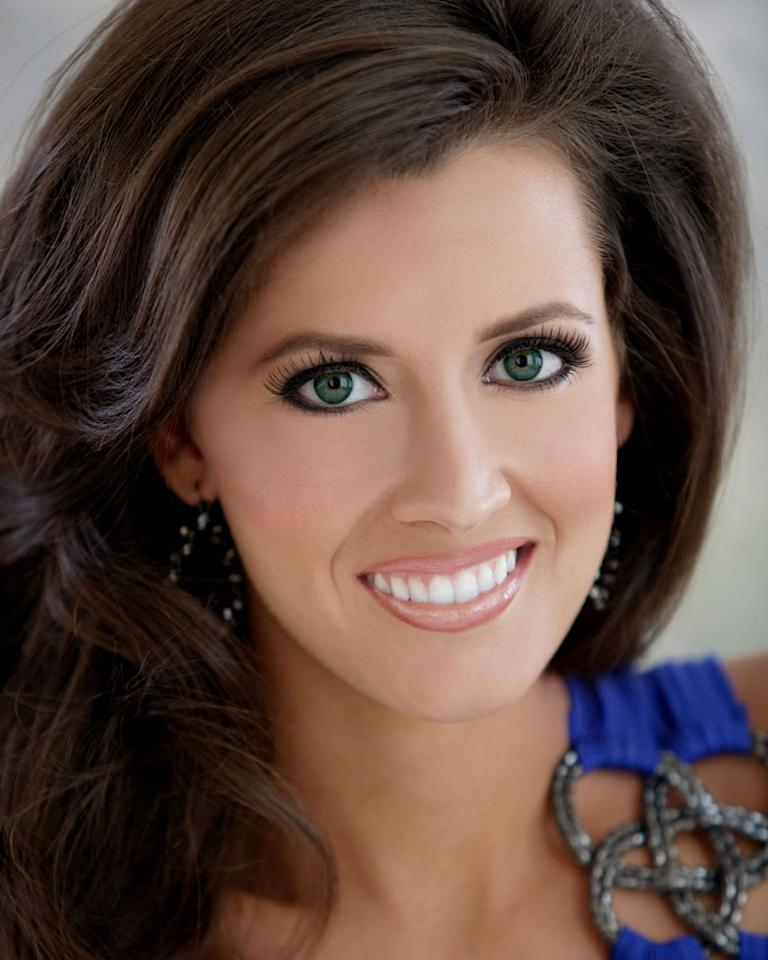 """Miss Arkansas, Kristen Glover is a contestant in the """"<a href=""""/2012-miss-america-pageant/show/48165"""">2012 Miss America Pageant</a>."""""""