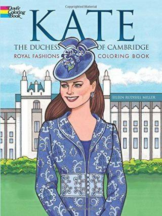 """<p><em>($4,</em><em><a rel=""""nofollow"""" href=""""https://www.amazon.com/Duchess-Cambridge-Fashions-Coloring-Fashion/dp/0486797724/ref=sr_1_3?tag=syndication-20&ie=UTF8&qid=1472495586&sr=8-3&keywords=kate+middleton"""">amazon.com</a>)</em><span></span><br></p><p>Give Kate Middleton's most famous looks — yes, even the wedding dress — the royal treatment with this adult coloring book. Just make sure the recipient hasenough brown colored pencils for those luscious locks.</p>"""