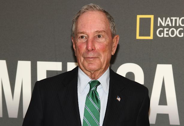 Donald Trump mocks Mike Bloomberg's height in Super Bowl interview