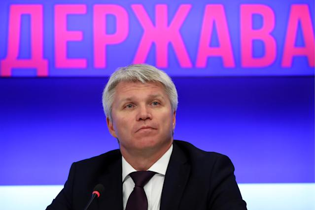 Russia's Sports Minister Pavel Kolobkov (Credit: Getty Images)