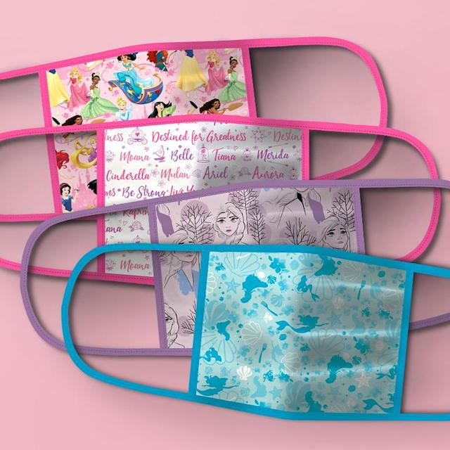 Disney Princess and Frozen Cloth Face Masks (Photo: Disney Parks, Experiences and Products)