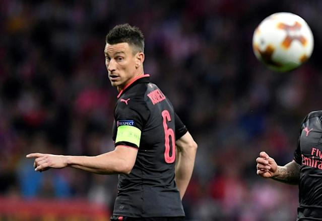 Arsenal's injured defender Laurent Koscielny has sent a letter of encouragement to the France World Cup squad
