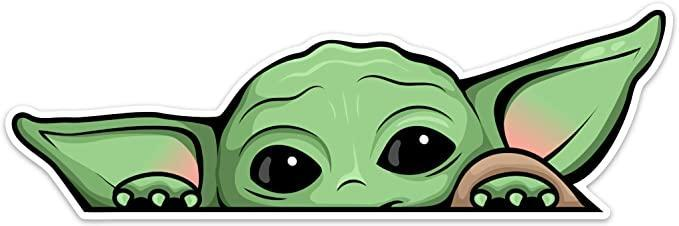 """<h2>Peeking Baby Yoda Sill</h2><br>Even people who couldn't pick Luke Skywalker out of a lineup know who Baby Yoda is, and most likely adore him. Bring this peeking Baby Yoda sticker to the gift exchange and you can be totally confident that people will love it. <br><br><strong>Saturdays Co.</strong> Peeking Baby Yoda Window Cling, $, available at <a href=""""https://amzn.to/2WhajmR"""" rel=""""nofollow noopener"""" target=""""_blank"""" data-ylk=""""slk:Amazon"""" class=""""link rapid-noclick-resp"""">Amazon</a>"""