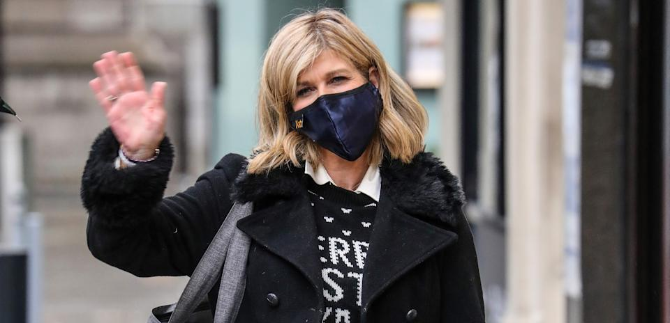 Kate Garraway says the kindness of strangers has helped through these dark times. (Getty Images)