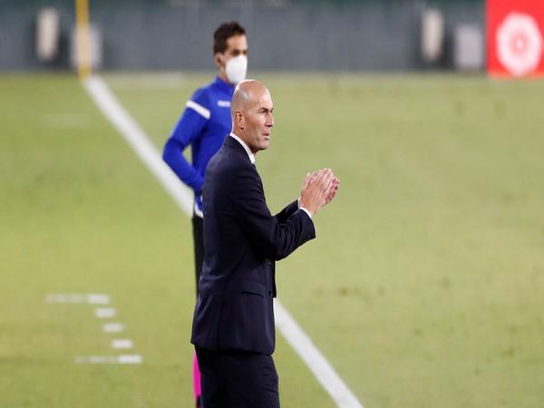 Zinedine Zidane (Photo/ Real Madrid Twitter)