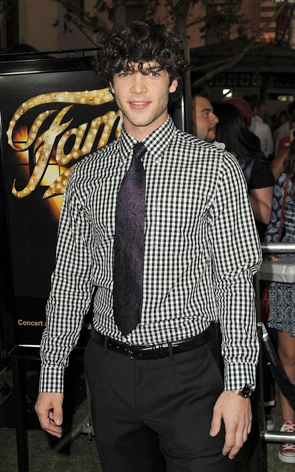"<a href=""http://movies.yahoo.com/movie/contributor/1800389174"">Ethan Peck</a> at the Los Angeles premiere of <a href=""http://movies.yahoo.com/movie/1810033914/info"">Fame</a> - 09/23/2009"