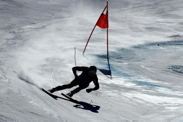 <p>Aksel Lund Svindal of Norway makes a run during the Men's Downhill on day six of the PyeongChang 2018 Winter Olympic Games at Jeongseon Alpine Centre on February 15, 2018 in Pyeongchang-gun, South Korea. (Photo by Clive Mason/Getty Images) </p>