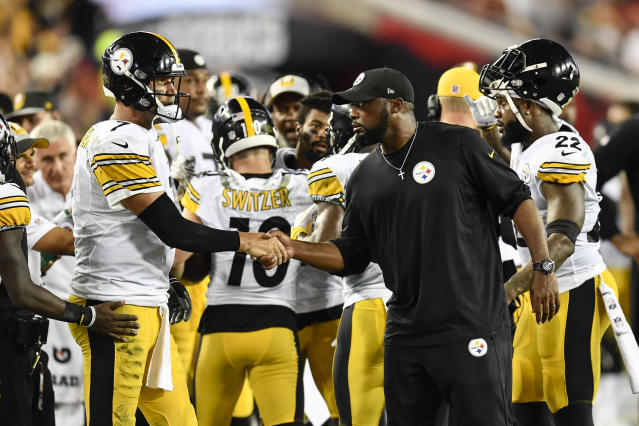 Steelers head coach Mike Tomlin improved to 13-2 on Monday night games. (Getty Images)