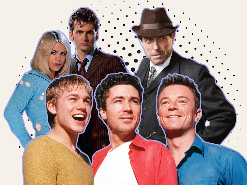 <p>Davies classics: 'Doctor Who', 'Queer as Folk', and 'A Very English Scandal'</p> (BBC/Channel 4)