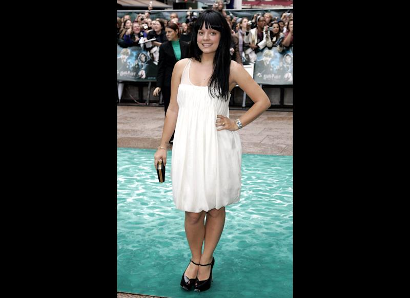 <strong>2007</strong> Lily arriving at the European Premiere of Harry Potter and the Order of the Phoenix