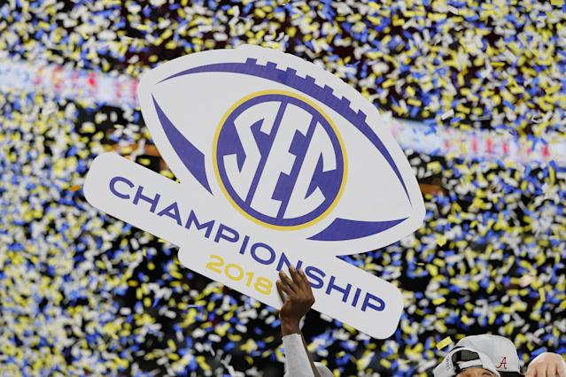 The confetti's only the beginning. (Kevin C. Cox/Getty Images)