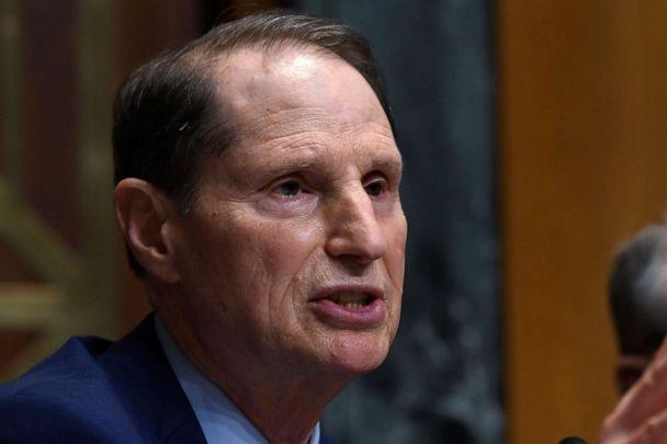 PHOTO: In this April 9, 2019 file photo, Senate Finance Committee ranking member Sen. Ron Wyden, D-Ore., speaks during a hearing on Capitol Hill in Washington. (Susan Walsh/AP, File)