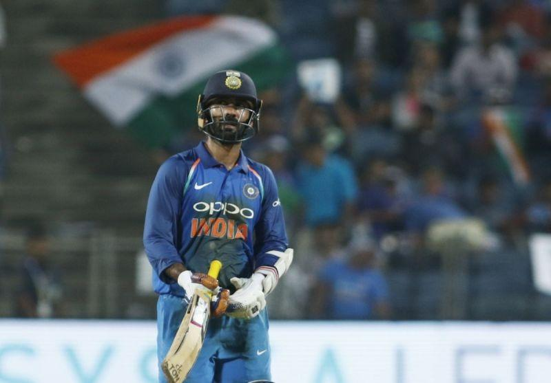 Dinesh Karthik performed his role to perfection at the number four slot