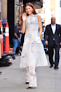 <p>Zendaya is WEARING the heck out of this semi-sheer co-ord set for an appearance on Good Morning America.</p>