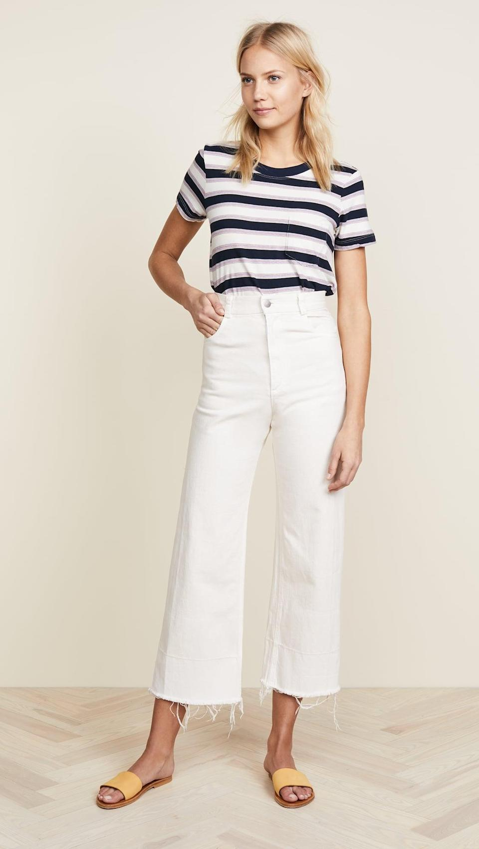 <p>The <span>Rachel Comey Legion Jeans</span> ($345) are a bit of a splurge, but if you love a high-rise fit and the opportunity for a shoe moment, you'll get bang for your buck. Customers say they run slightly small but are very comfortable.</p>