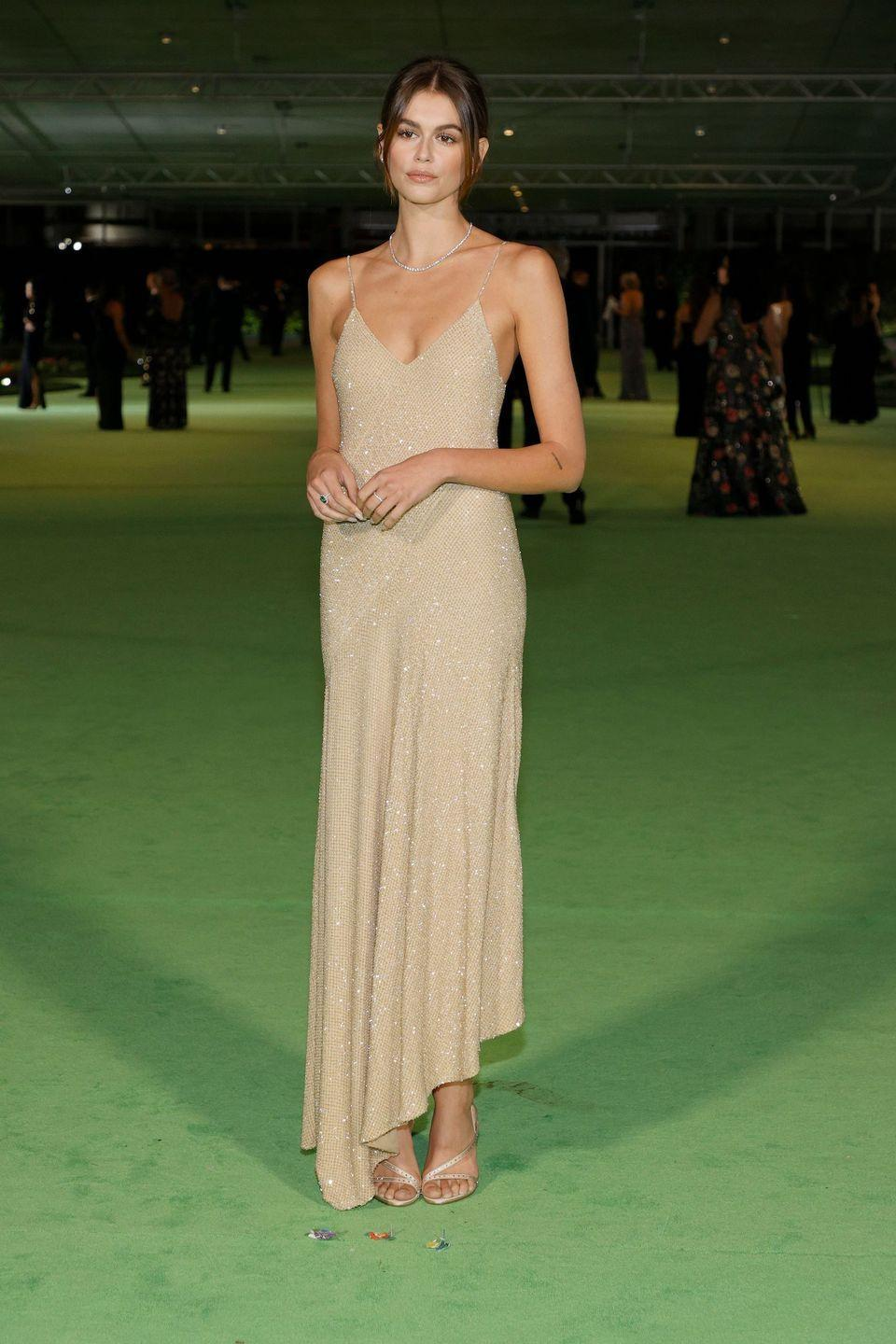 <p>in Celine with Tiffany & Co. jewellery</p>