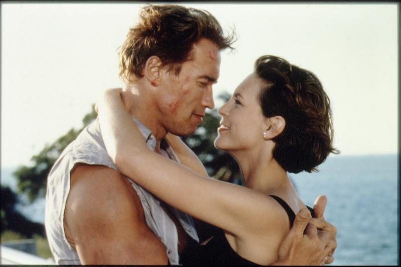 FILM 'TRUE LIES' BY JAMES CAMERON (Photo by Siemoneit/Sygma via Getty Images)