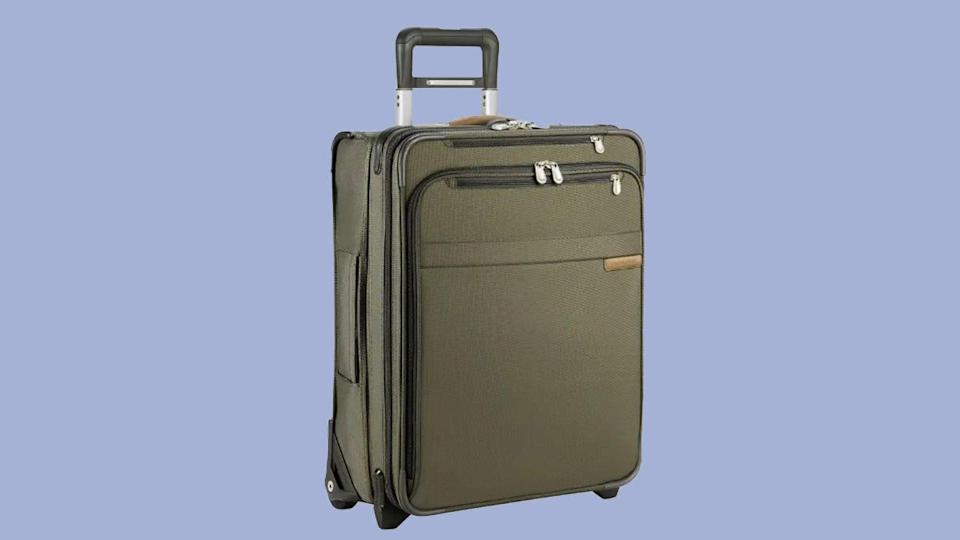 Customers found this Briggs & Riley carry-on luggage spacious and lightweight.
