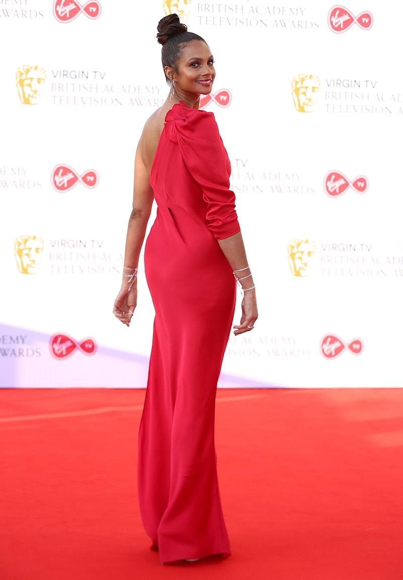 Alesha Dixon attending the Virgin TV British Academy Television Awards 2018 held at the Royal Festival Hall, Southbank Centre, London.