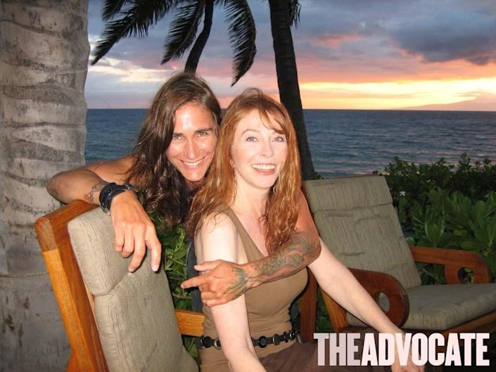 Cassandra Peterson and T Weirson