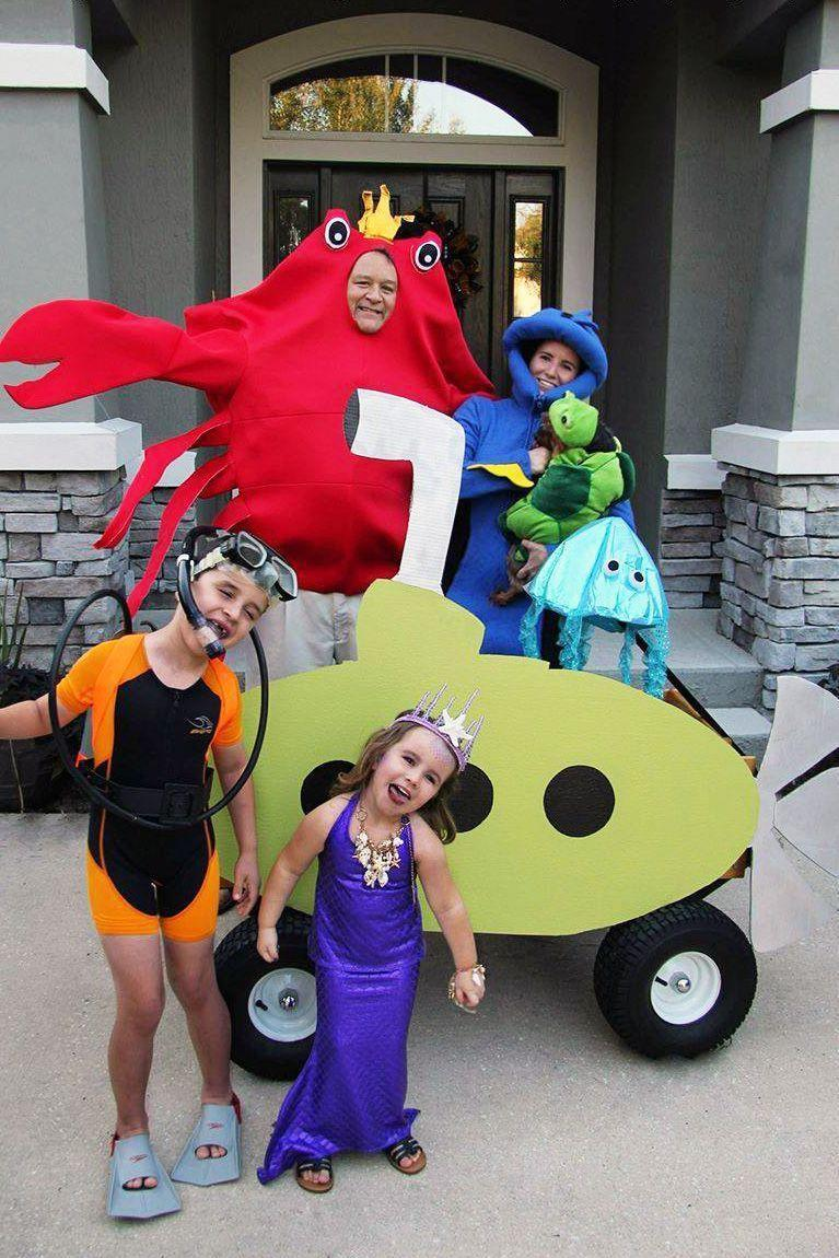 """<p>An """"under the sea"""" theme is fun to wear whether you want to to dress up as The Little Mermaid or a lobster. </p>"""