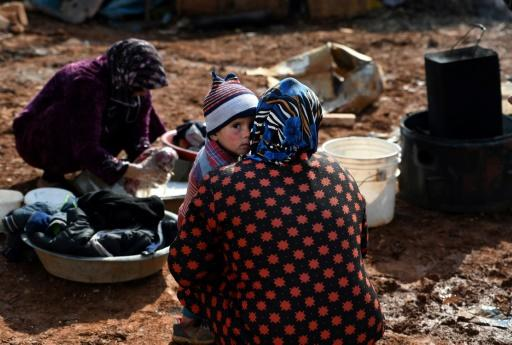 The Syrian government's devastating offensive against the country's last major rebel pocket has driven around 900,000 civilians from their homes and shelters in less than three months
