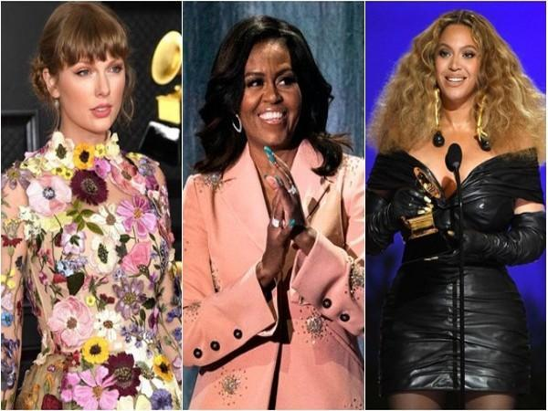 Taylor Swift, Michelle Obama and Beyonce (Image source: Instagram)