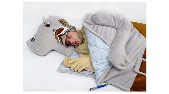That's right, after all these years, you can finally sleep inside a tauntaun.