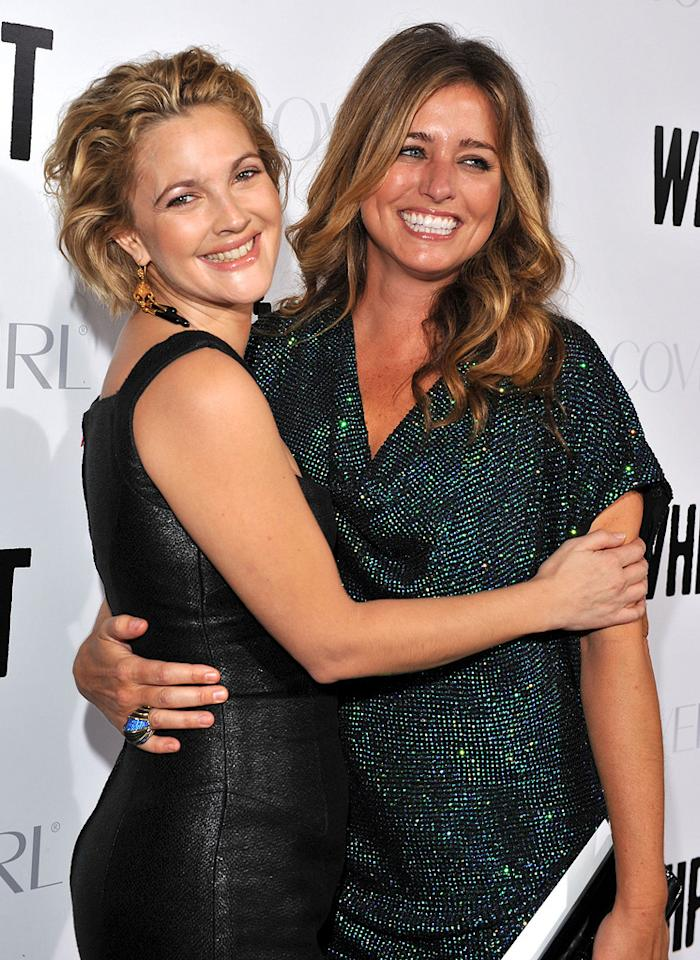 """<a href=""""http://movies.yahoo.com/movie/contributor/1800016287"""">Drew Barrymore</a> and producer <a href=""""http://movies.yahoo.com/movie/contributor/1800023674"""">Nancy Juvonen</a> at the Los Angeles premiere of <a href=""""http://movies.yahoo.com/movie/1810036665/info"""">Whip It!</a> - 09/29/2009"""