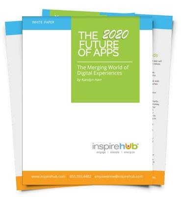 InspireHUB's latest white paper helps executive leaders leverage significant changes in technology to build digital experiences FAST, including apps, portals, hubs, intranets, extranets and more. As we enter 2020, consumers are demanding hyper-personalized digital experiences that are secure and seamless regardless of the device they are using. The maturation of Progressive Web Apps (PWA) and the latest intelligent technologies are blurring digital experiences in surprising ways.