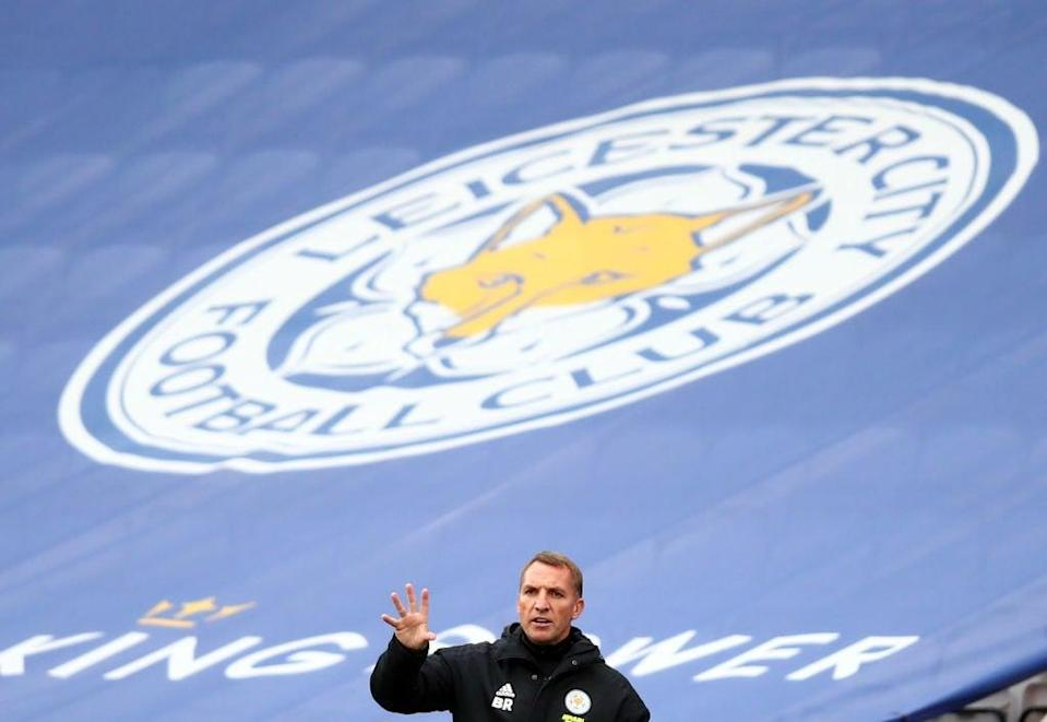 Leicester boss Brendan Rodgers (POOL/AFP via Getty Images)