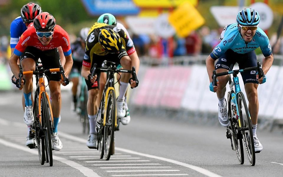 Ion Izagirre - Brandon McNulty takes Itzulia lead after Ion Izagirre leads home Basque one-two - GETTY IMAGES
