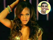 "<p>Love at first sight … well, for Drake at least. It all began back in 2005, when the Toronto rapper encountered Rihanna. ""The first time I met Robyn Fenty was 2005,"" <a href=""https://www.youtube.com/watch?%20v=HGcc3LyANtA"" rel=""nofollow noopener"" target=""_blank"" data-ylk=""slk:Drake revealed"" class=""link rapid-noclick-resp"">Drake revealed</a> at the 2016 MTV VMAs. ""She was shooting a music video at a restaurant called Avocado in Toronto. The song was 'Pon de Replay.' ? I was introduced to her as a kid who played background music at the restaurant as people ate their dinner. It's hard to believe that was 11 years ? they know me as Drake and not the kid singing while you order pasta. But 11 years later, we still all know Rihanna as the one and only Rihanna."" Luckily for Drake, he got to know his crush a little better. (Photos: Vevo/WireImage) </p>"
