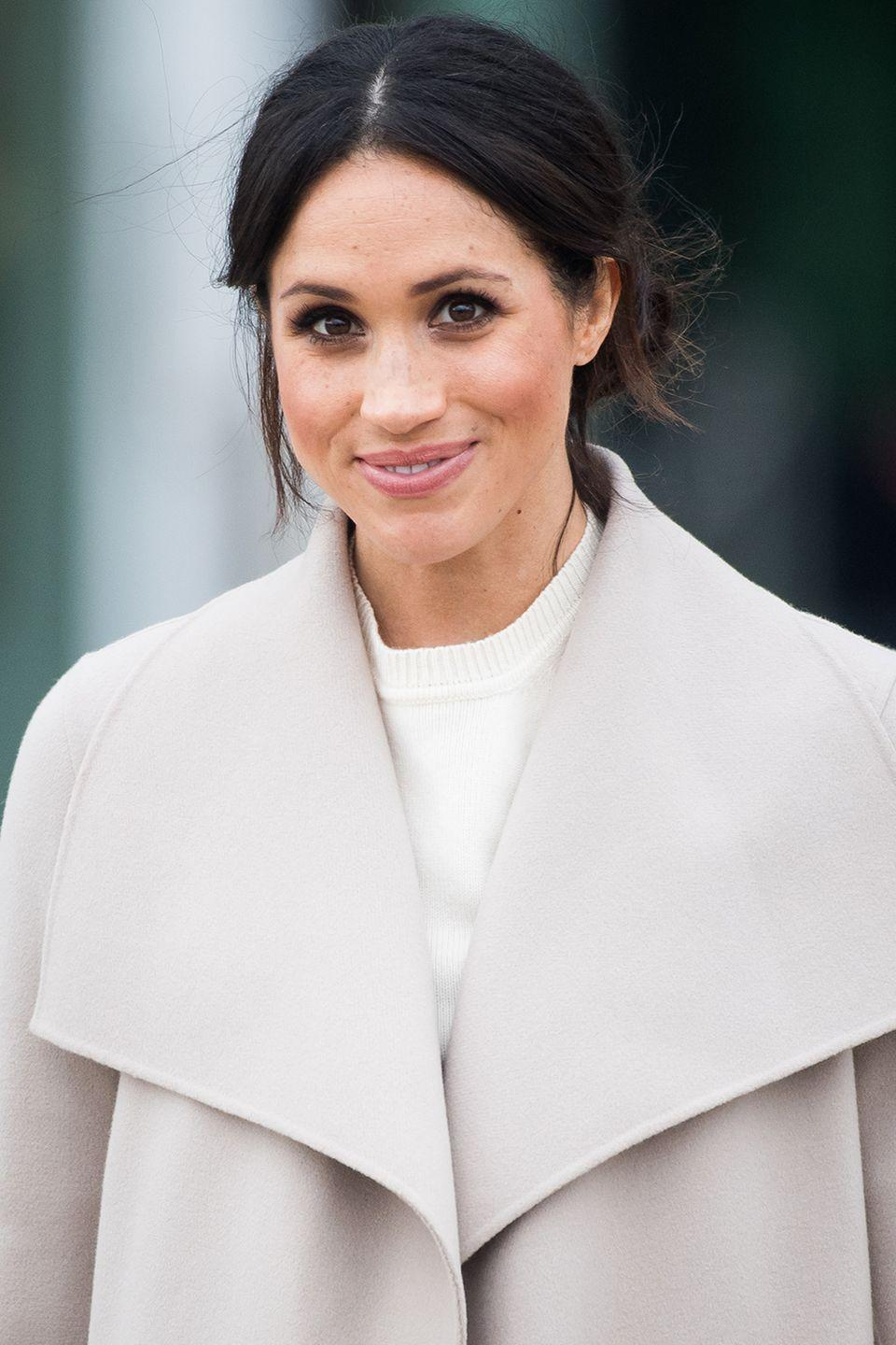 """<p><strong>Born</strong>: Rachel Meghan Markle<br></p><p>It's now common knowledge that Meghan Markle's <a href=""""https://www.harpersbazaar.com/celebrity/latest/a9916635/meghan-markle-real-name/"""" rel=""""nofollow noopener"""" target=""""_blank"""" data-ylk=""""slk:real first name"""" class=""""link rapid-noclick-resp"""">real first name</a> is Rachel, though her birth name doesn't much matter, as she's now <a href=""""https://www.harpersbazaar.com/celebrity/latest/a13939431/meghan-markle-royal-title/"""" rel=""""nofollow noopener"""" target=""""_blank"""" data-ylk=""""slk:a Duchess"""" class=""""link rapid-noclick-resp""""> a Duchess</a>.</p>"""