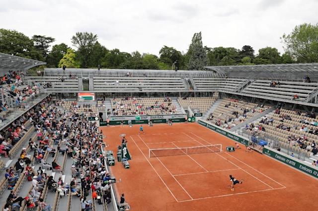 The new arena is the third show court at Roland Garros (AFP Photo/Thomas SAMSON)