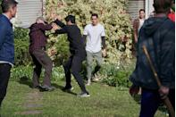 <p>Nikau remains determined to defend his family.</p>