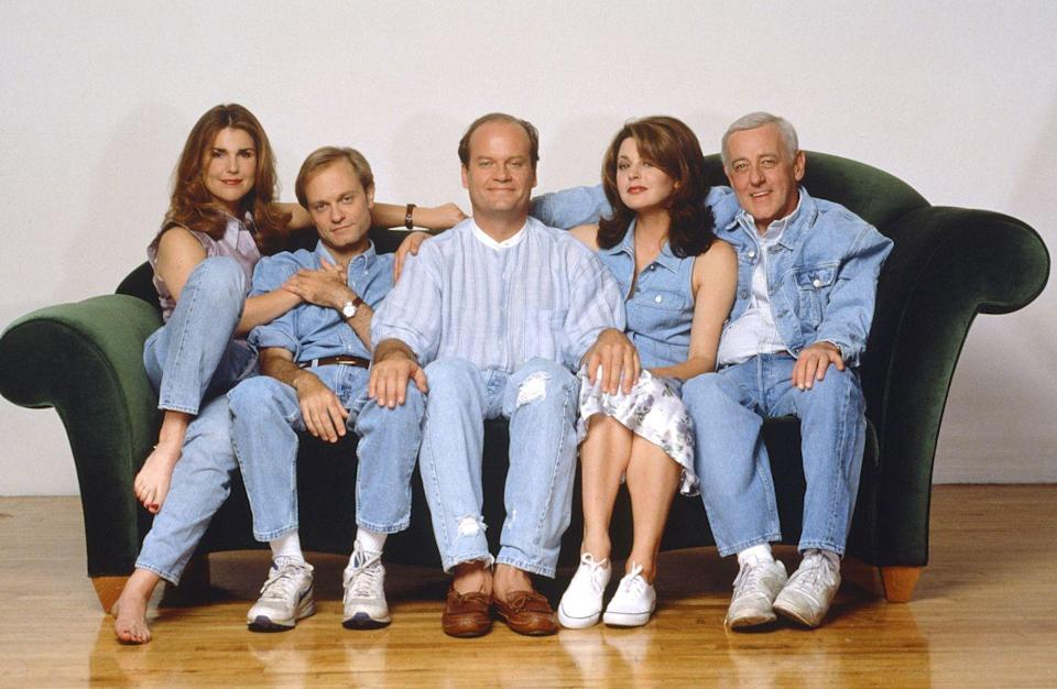 """<p>If Frasier Crane's Seattle apartment looked expensive, that's because it was. <a href=""""http://mentalfloss.com/article/60555/18-things-you-might-not-know-about-frasier"""" rel=""""nofollow noopener"""" target=""""_blank"""" data-ylk=""""slk:Set designers"""" class=""""link rapid-noclick-resp"""">Set designers</a> spent nearly half a million dollars bringing the radio host's deluxe digs to life. $15,000 alone was spent on a replica of Coco Chanel's couch. While exact figures are hard to come by, it's probably safe to say that Martin's recliner did not cost quite as much.</p>"""