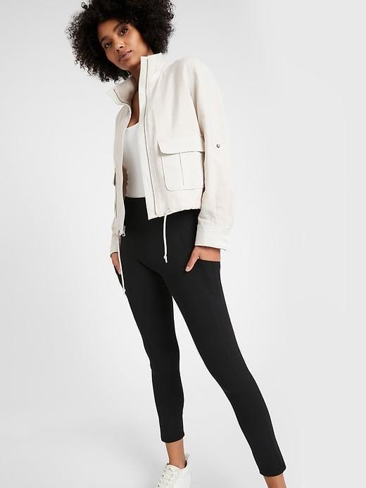 <p>We love the look of the <span>Banana Republic On the Go Legging</span> ($70) . . . even if we're only going to the fridge. (And there is UPF 50+ inside the material if we <i>do</i> venture out.)</p>