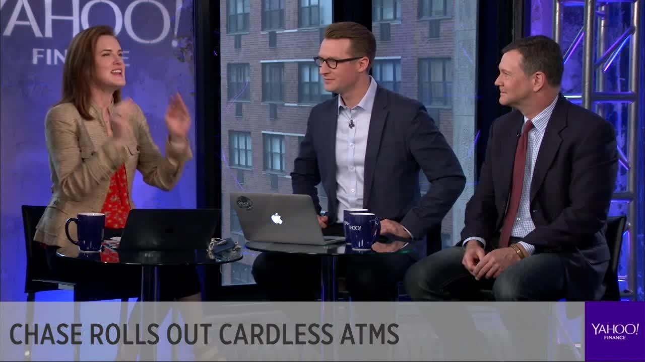 Chase rolls out cardless ATMs