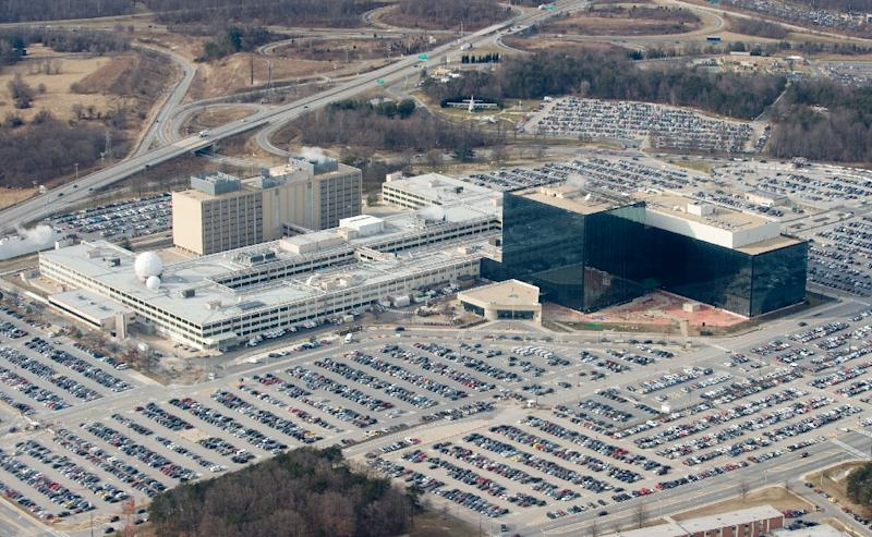 The CIA denied reports that US spies paid a Russian $100,000 in an attempt to buy back top secret hacking tools stolen from the National Security Agency, seen here (AFP Photo/SAUL LOEB)