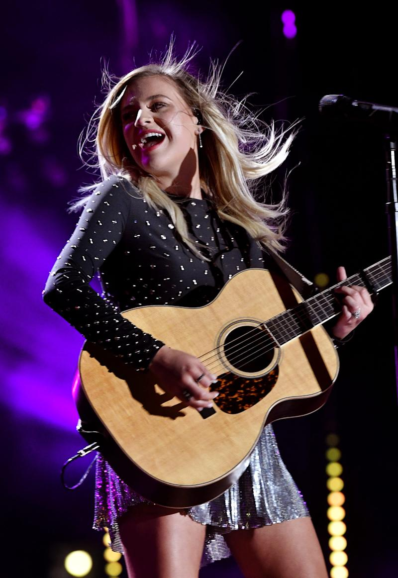 """From CMT Crossroads: Halsey and Kelsea Ballerini, here, and their """"Graveyard"""" are nominees for CMT Performance of the Year."""