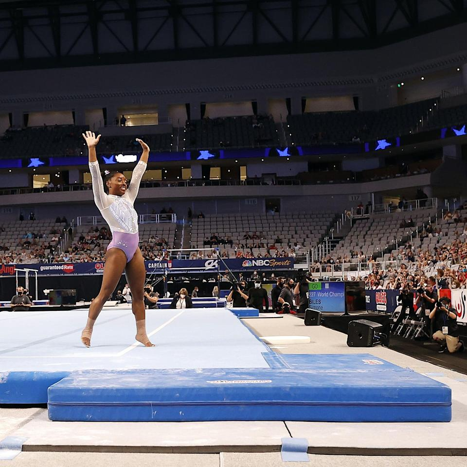 Victory! Simone Biles Sets Yet Another Record With Her Seventh National Championship Win