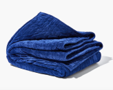 """<p><strong>Gravity Blankets</strong></p><p>Gravity Blankets</p><p><a href=""""https://go.redirectingat.com?id=74968X1596630&url=https%3A%2F%2Fgravityblankets.com%2Fproducts%2Fgravity-blanket&sref=https%3A%2F%2Fwww.goodhousekeeping.com%2Fhome-products%2Fg35685540%2Fgravity-blankets-weighted-blanket-sale%2F"""" rel=""""nofollow noopener"""" target=""""_blank"""" data-ylk=""""slk:Shop Now"""" class=""""link rapid-noclick-resp"""">Shop Now</a></p><p><strong><del>$189</del> $160.65 (15% off)</strong></p><p>Dipping your toes into the weighted blankets world for the very first time? You can't go wrong with the classic. Available in three colors and four weights, you're bound to find an option that fits your needs.</p>"""