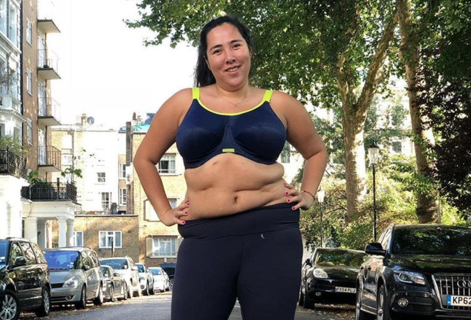 <span>Michelle Elman shared the selfie after her first run in years. [Photo: Twitter]</span>